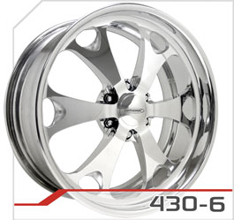 budnik wheels Six-Lug Series 430-6