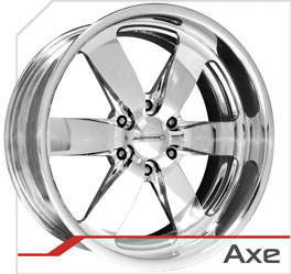 budnik wheels Six-Lug Series axe
