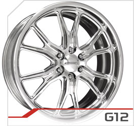 budnik wheels Six-Lug Series g12