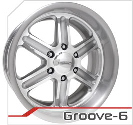 budnik wheels Six-Lug Series groove-6