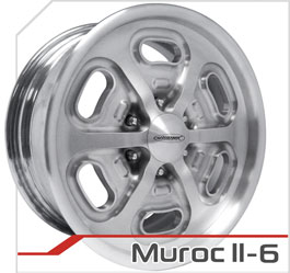 budnik wheels Six-Lug Series murocII-6