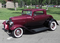 1932 ford brookville coupe